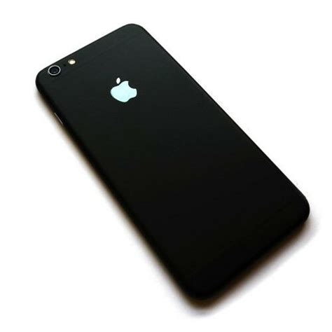 apple iphone 6 6s matte black luxury fashion back cover ebay