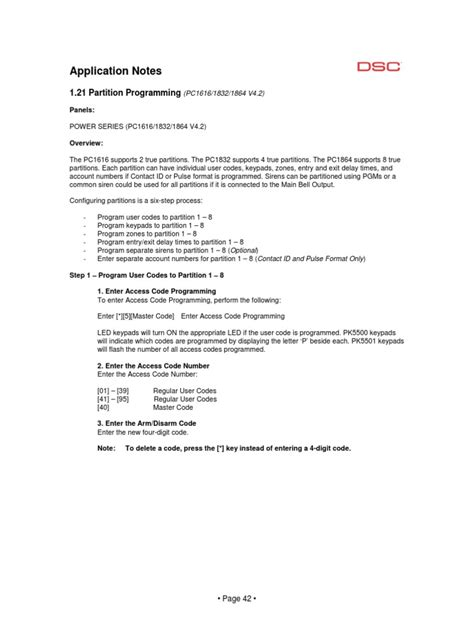Application-Notes PC1616 1832 1864-V4.2 Partition