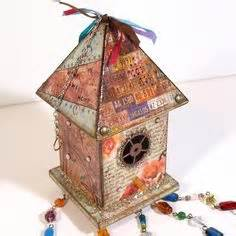bohemian suncatcher artsy mix of eclectic custom by little houses on pinterest birdhouses bird houses and