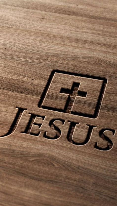 jesus cross wood wallpaper  aggie