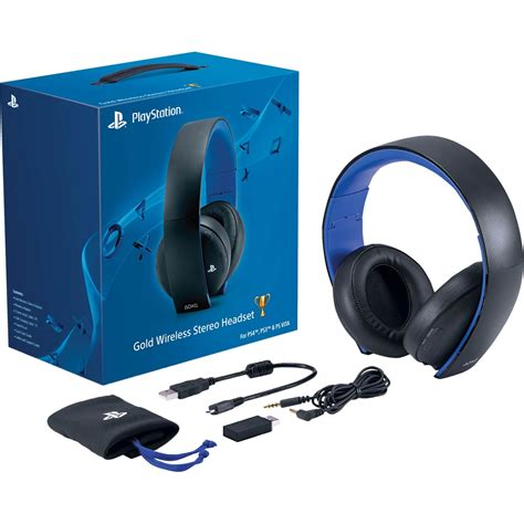 Sony Gold Wireless Headset Sony Ps4 Gold Wireless Stereo Headset Ps4 Accessories Electronics Shop The Exchange
