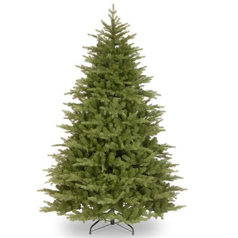 huntington spruce feel real hinged artificial christmas