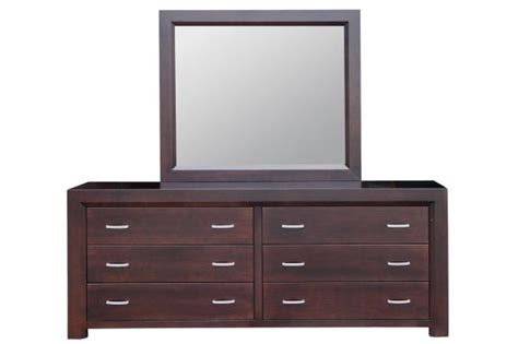 long dressers bedroom contempo 6 drawer long dresser mirror handstone