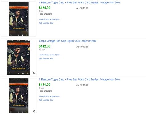 what happened to boat trader app topps star wars card trader and magic the gathering