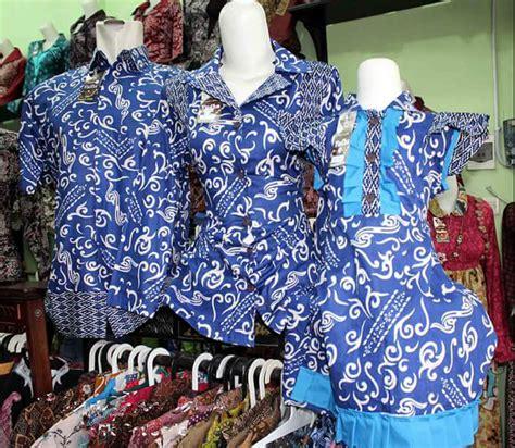 Batik Pesta Kondangan koleksi model baju batik keluarga terbaru untuk
