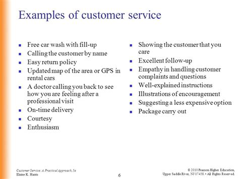 customer service a practical approach 5th ed by elaine k harris ppt