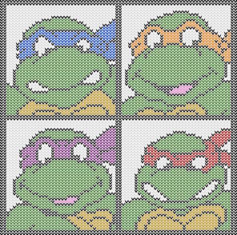 knitting pattern for ninja turtles jumper ninja turtles to knit and crochet free patterns