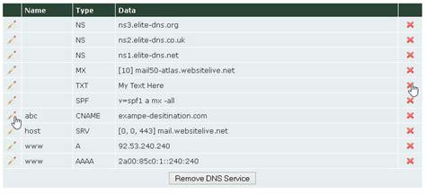 setup dns zone records  web wiz