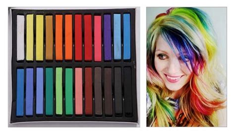 Hair Extend Asli Rambut Extend Psa Don T Use Hair Chalk For An Extended Period Of Time