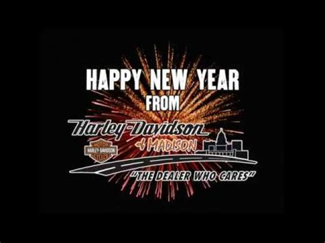 harley davidson happy new year images happy new year from harley davidson of