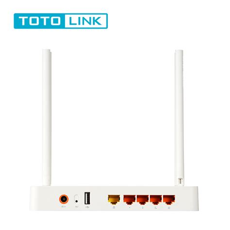 Totolink A2004ns Wireless Router Ac Dual Band Putih totolink a2004ns gigabit dual band 1200m wireless wifi router 802 11ac usb 2 0 vpn qos wps vpn