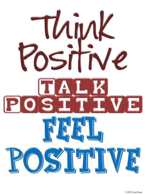 Think Be Positive think positive positive attitude quotes