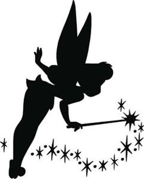 Fairy Wall Stickers tinkerbell fairy dust silhouette home d 233 cor kids room