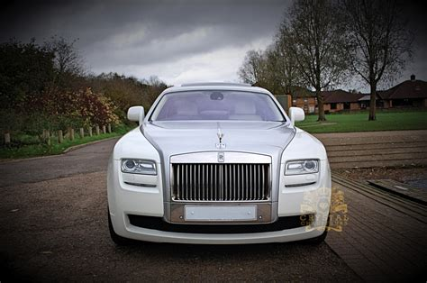 phantom ghost car rolls royce ghost wedding car hire