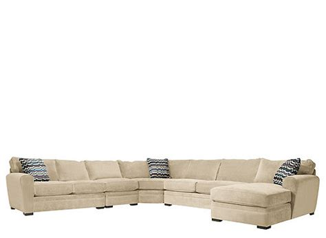 artemis ii sectional artemis ii 5 pc microfiber sectional sofa gypsy stone