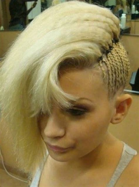 side mohack with real hair 45 fantastic braided mohawks to turn heads and rock this