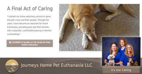 journeys home pet euthanasia wi dane iowa