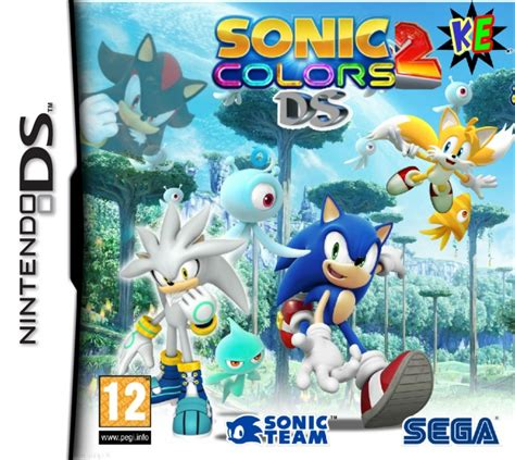 sonic colors ds sonic colours 2 ds nintendo ds box cover by kalilousou