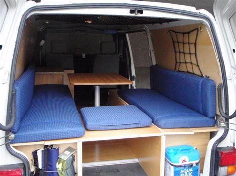 Bus Conversion Floor Plans by Vw Eurovan Quot Cargo Quot Camper Conversion Talkfestool