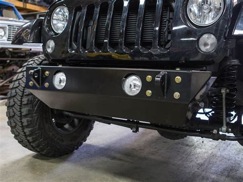 front bumpers for jeep jk fusion jk front winch bumper genright jeep parts