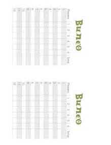 free printable bunco score sheets only myideasbedroom com