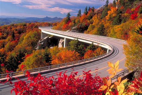 best section of blue ridge parkway top 5 scenic drives to ski resorts in north america