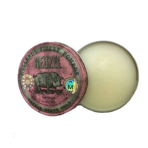 Pomade Reuzel Pink reuzel pink grease heavy hold