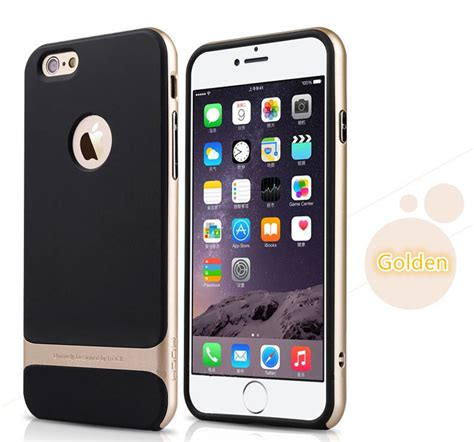 Protective For Iphone 6plus 7 7 Plus Cover Kickstand Pc Tpu Shock best golden metal protective iphone 8 7 6 6s plus