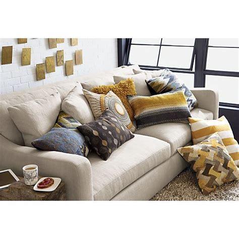 verano sofa crate and barrel verano sofa