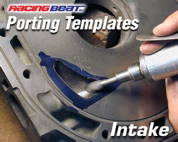 rotary engine porting templates porting template for streetable intake 12a 13b racing beat