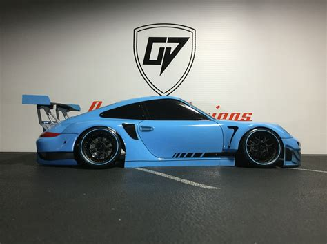 porsche 911 custom hpi 200mm porsche 911 gt3 rsr custom or rtr car