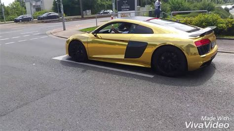 Audi Dortmund by Audi R8 P E Aubameyang In Dortmund