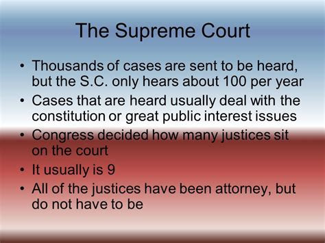 how many supreme court justices sit on the bench citizenship and the constitution ppt video online download