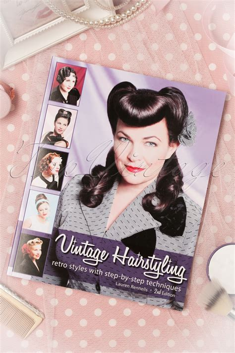 vintage hairstyles book vintage hairstyling retro styles with step by step
