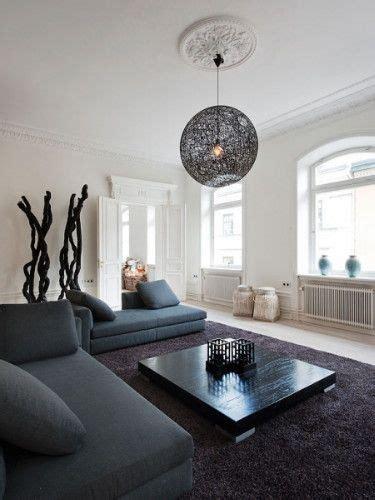 black sofa contemporary living room lda architects living room modern interior design decor black sofas