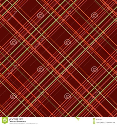 simple pattern brown abstract seamless pattern with plaid fabric on a dark