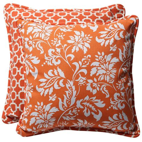 Decorative Pillows by Orange Throw Pillows Home Decorator Shop
