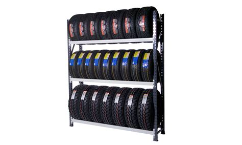 Tyre Shelf by Unistorgroup Mezzanine Floors Mezzanine Flooring