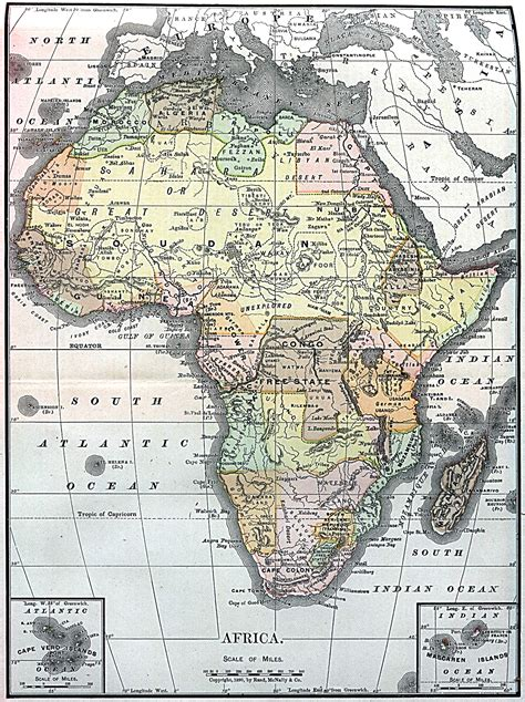 africa map 1900 whkmla historical atlas africa page