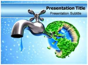 Saving Powerpoint Templates by Saving Water Powerpoint Templates And Backgrounds