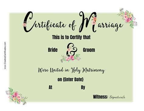 Jefferson County Kentucky Marriage Records Templates Marriage Certificates Certificate Scanned Marriage Records Marriage