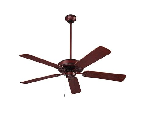 small outdoor ceiling fans wet rated nutone cfo52wb weathered bronze 52 inch outdoor energy