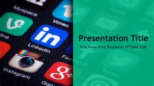 Social Media Powerpoint Templates by Free Social Media Powerpoint Template Pptmag