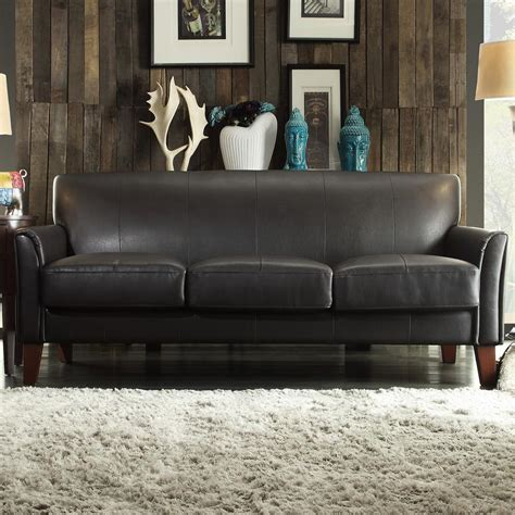 home decorators gordon sofa home decorators collection gordon brown leather sofa