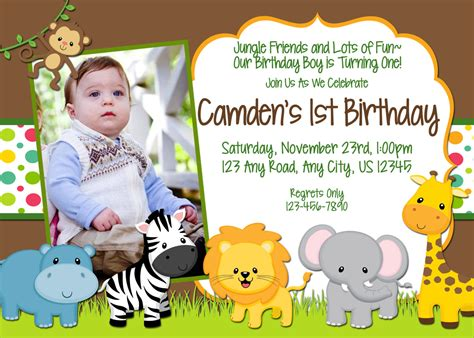free printable birthday invitations jungle theme chandeliers pendant lights