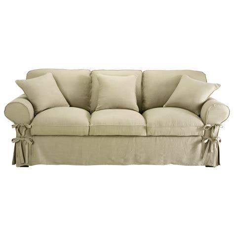 divani beige divano trasformabile beige grigio chiaro in cotone 3 posti