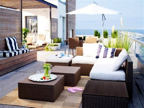 rattan teppich 14 garden furniture ideas from ikea set up the patio
