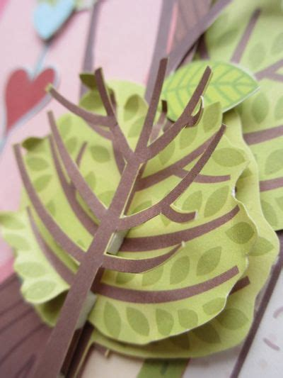 How To Make A 3d Tree Out Of Paper - my shoebox up in the trees