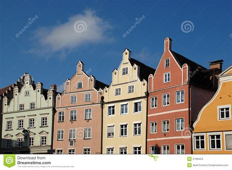 Unique European House Plans historic german row houses stock images image 2168454
