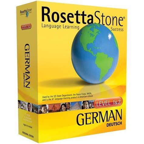 rosetta stone german cd rosetta stone lingo expert